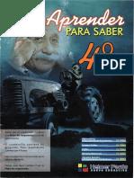 4º APRENDER PARA SABER
