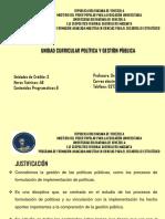 PRESENTACION POLITICAS Y GESTIÒN PUBLICA