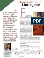 Nexus 68 - Psychisme - Remote viewing - L'incroyable pouvoir de la vision à distance - Jocelin Morisson (mai 2010)