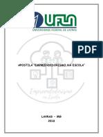 """APOSTILA_""""empreendedorismo na escola""""_ manual do aluno"""