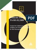AMAAC PA-MA 02-2008