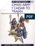 Roman Army From Caesar To Trajan