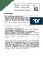DTR 267 Descritivo para Termo de Referência Carro Maca nível I