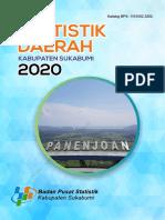Statistik Daerah Kabupaten Sukabumi  2020