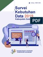 Analisis Hasil Survei Kebutuhan Data Kabupaten Sukabumi 2019