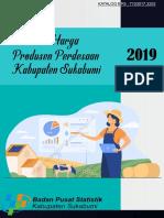 Statistik Harga Produsen Perdesaan Kabupaten Sukabumi 2019