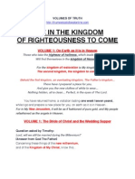 Life in the Kingdom to Come