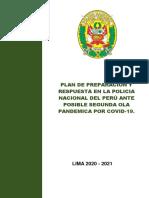 PLAN DE PREPARACION Y RESPUESTA PNP
