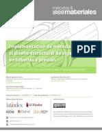 Universida Costa Rica - Implementacion De Metodologia Para El Diseno Estructural