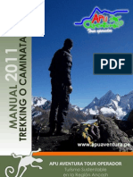 Apu Aventura. Manual Trekking 2011 (Agencias)