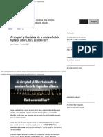 Ai Dreptul Și Libertatea de a Anula Efectele Faptelor Altora, Fără Acordul Lor_ — Katona Nicolae