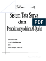 Artikel Fisika-tata Surya