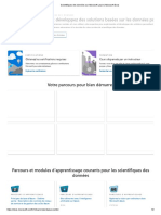 Scientifiques des données sur Microsoft Learn _ Microsoft Docs