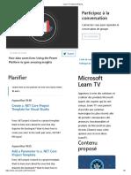 Learn TV _ Microsoft Docs