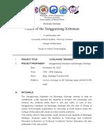 Activiity Proposal SK Livelihood Training