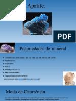 Geologia- Apatite