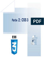 Cours Web 2 CSS3