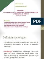 1. OBIECTUL DE STUDIU AL SOCIOLOGIEI Partea I_15.10