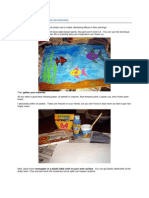 How To Make underwater painting