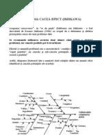 Diagrama Cauza-Efect - Ishikawa
