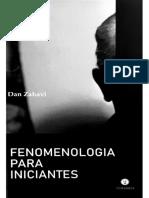 Fenomenologia Para Iniciantes by Dan Zahavi (Z-lib.org) (1)