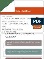 5,6. Metode Sterilisasi