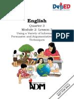 ENGLISH 10 Q3 M2 L3