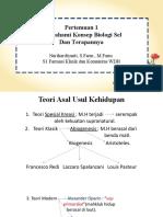 Teori Biologi Sel dan Terapannya
