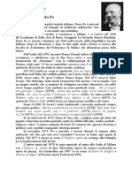 Dario Luigi Angelo Fo-Vita e Opere