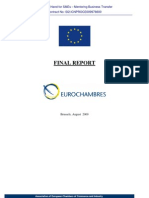 Final Report of Mentoring Business Transfer