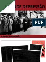 Grande Depressão dos Anos 30.