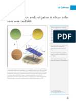 Heat Generation and Mitigation in Silicon Solar Cells and Modules