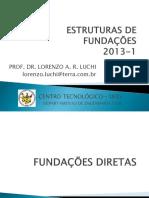 ESTRUTURAS DE FUNDAÇÕES 2 - DIRETAS