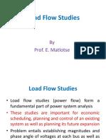 Load Flow Studies- Lecture notes 2(1)