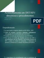 Aconselhamento em DST_SIDA