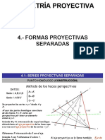 FORMAS PROYECTIVAS SEPARADAS (GRUPO10)