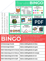 Bingo - Alles über mich