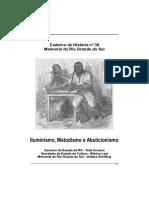 Artigo - Iluminismo, Metodismo e Abolicionista