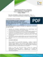 Guía de Actividades y Rúbrica de Evaluación - Unidad 3 - Fase 4 - Vigilancia Epidemiológica y Aplicación de La Epidemiología Ambiental