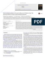 Environmental policies in the peri-urban area of Mexico City The perceived effects of three environmental programs
