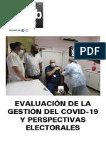 Evaluación de la Gestión del Covid-19 y perspectivas electorales