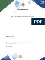 electromanectismo - ejercicios- tarea 1