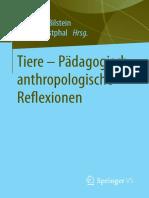 Tiere - Padagogisch-Anthropolog - Johannes Bilstein