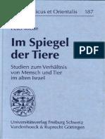 Im Spiegel Der Tiere_ Studien z - Peter Riede