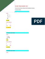 Ejercicios de Conversiones Sistema Octal 8D