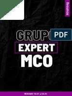 Resumo Expert Mco 18.01 a 24.01