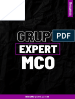 Resumo Expert Mco 25.01 a 31.01.