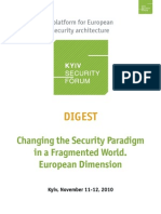4th Kyiv Security Forum Digest