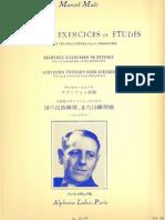 Marcel Mule - 18 Ejercicios o Estudios (Libro)