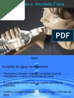 Hidratação e  Atividade Física